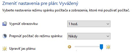 rezim spanku windows 10